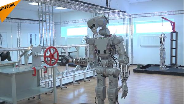 Zkoušky androida FEDOR - Sputnik Česká republika