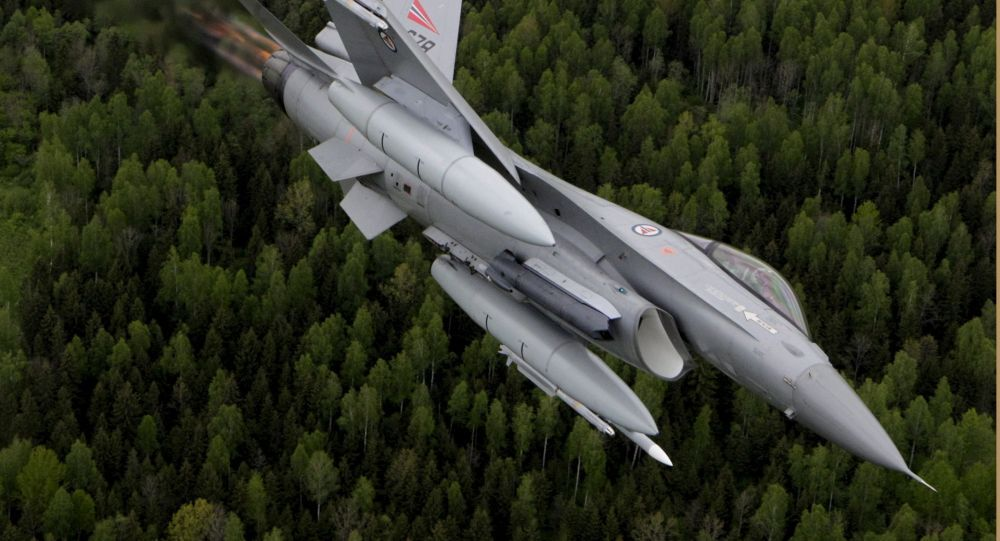 Norská stíhačka F-16. Ilustrační foto