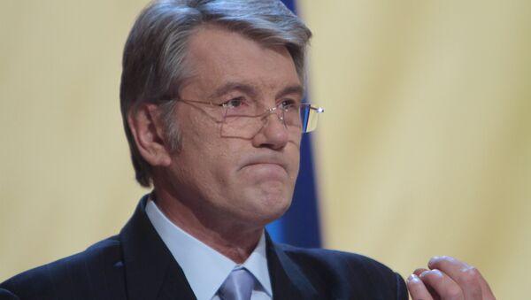 Bývalý prezident Ukrajiny Viktor Juščenko - Sputnik Česká republika