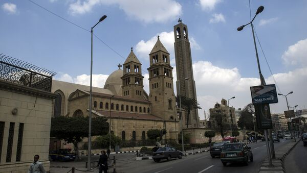 Saint-Mark's Coptic Cathedral in Cairo's al-Abbassiya district (File) - Sputnik Česká republika