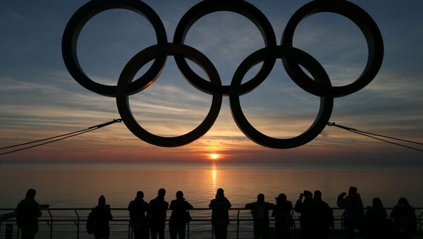 Olympijské kruhy v Soči - Sputnik Česká republika