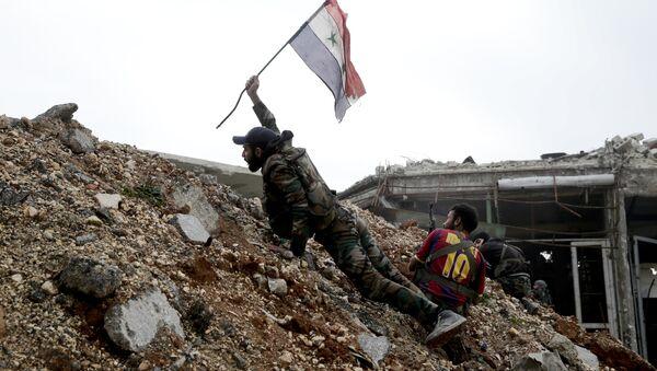 Syrské úřady zcela kontrolují přes 95 % území Aleppa - Sputnik Česká republika
