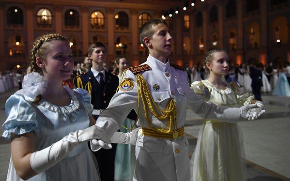 Kremelský kadetský ples - Sputnik Česká republika