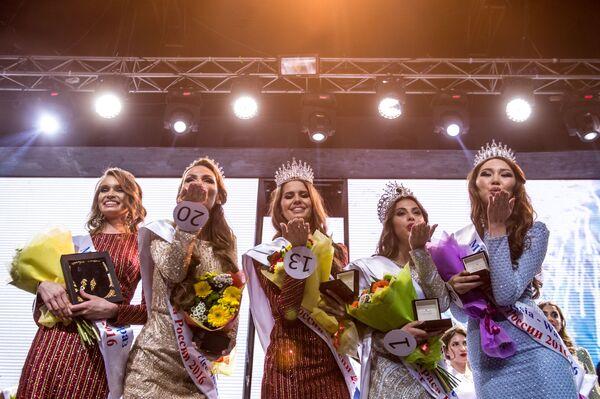Finále soutěže Krása Ruska 2016 - Sputnik Česká republika