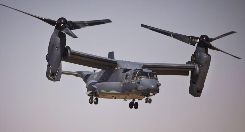 Americký konvertoplán Bell V-22 Osprey