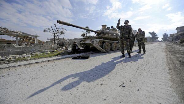 Vládní vojska v Aleppu - Sputnik Česká republika