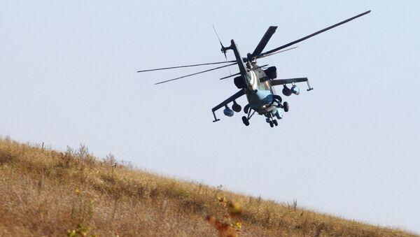 Ukrajinský vrtulník - Sputnik Česká republika