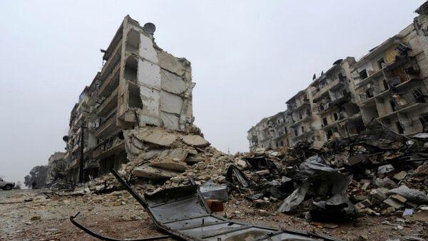 Aleppo, 13. prosince 2016 - Sputnik Česká republika