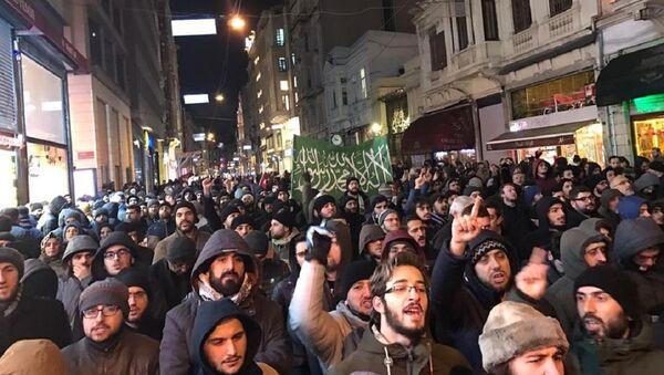 Protesty v Turecku - Sputnik Česká republika