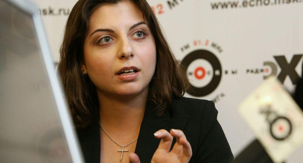 Šéfredaktorka televizní stanice RT Margarita Simonjanová