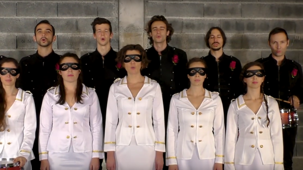 Francouzská kapela nahrála hymnu pro Donbas - Sputnik Česká republika