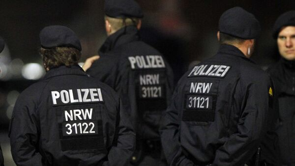Německá policie - Sputnik Česká republika