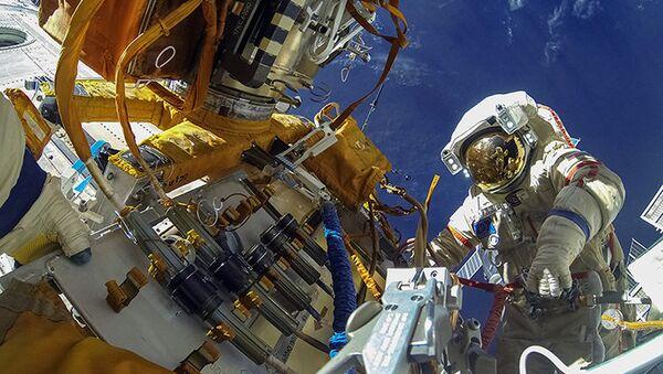 Výstup do vesmíru. Ilustrační foto - Sputnik Česká republika