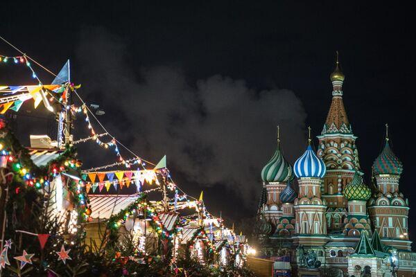 Předvánoční Moskva 2017 - Sputnik Česká republika