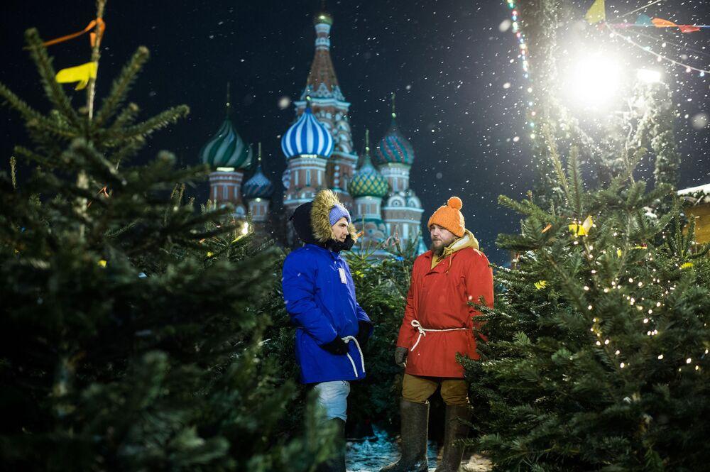 Předvánoční Moskva 2017