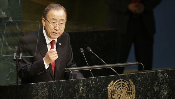 Generální tajemník OSN Pan Ki-mun - Sputnik Česká republika