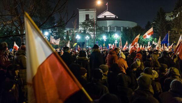 Demonstrace ve Varšavě - Sputnik Česká republika
