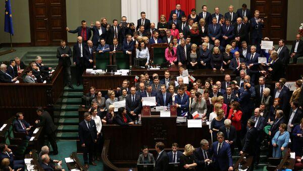 Zasedání Sejmu ve Varšavě - Sputnik Česká republika