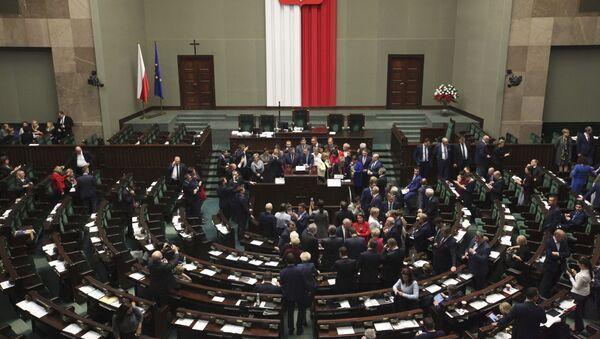 Polský Sejm - Sputnik Česká republika
