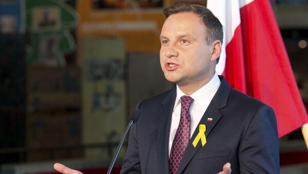 Polský prezident Andrzej Duda - Sputnik Česká republika