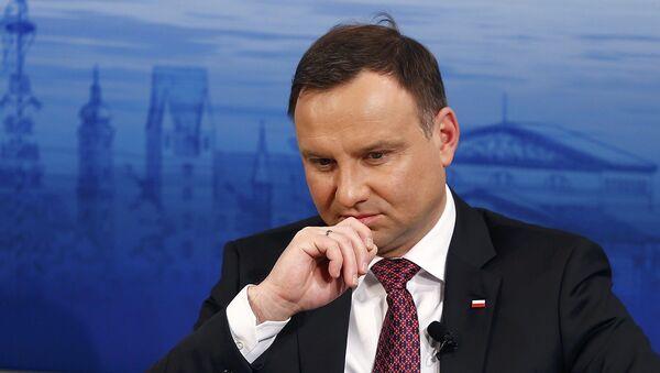 Andrzej Duda - Sputnik Česká republika