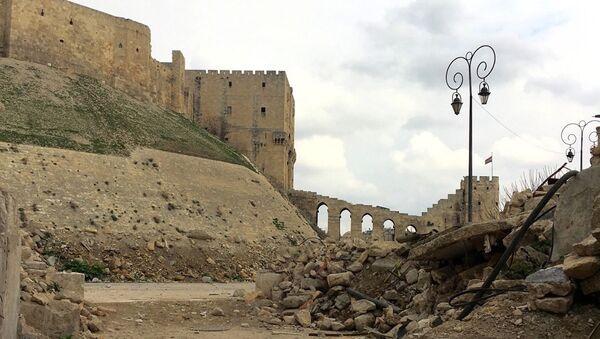 Citadela v historické části Aleppa - Sputnik Česká republika