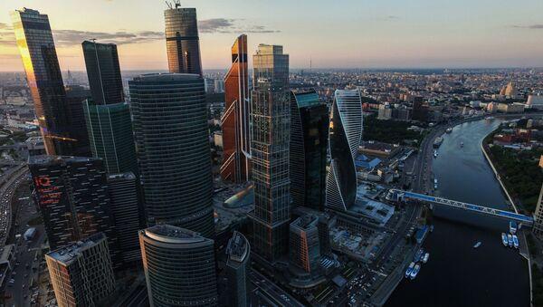 Moskva-City - Sputnik Česká republika
