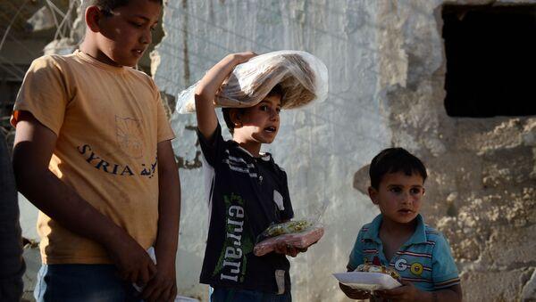 Syrské děti - Sputnik Česká republika