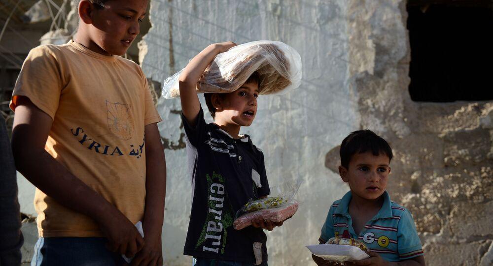 Syrské děti