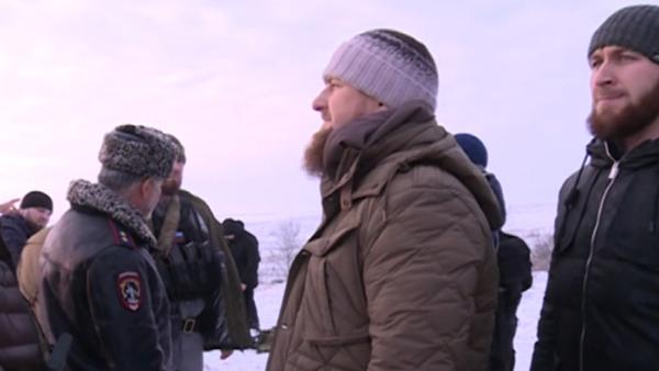 Zadržení ozbrojenců v Grozném - Sputnik Česká republika