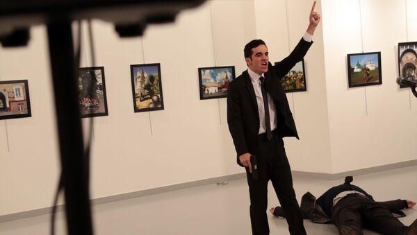 Vrah velvyslance. Ankara - Sputnik Česká republika