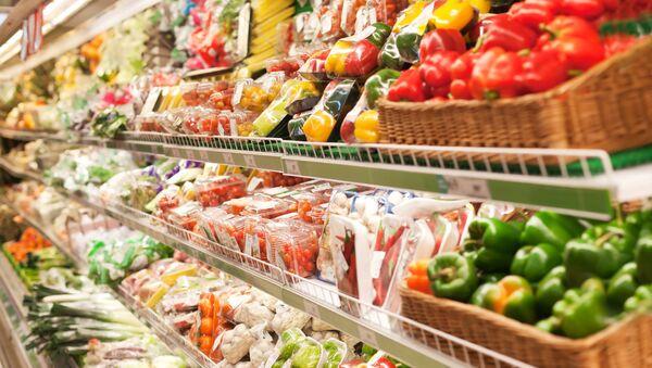 Zelenina v supermarketu - Sputnik Česká republika