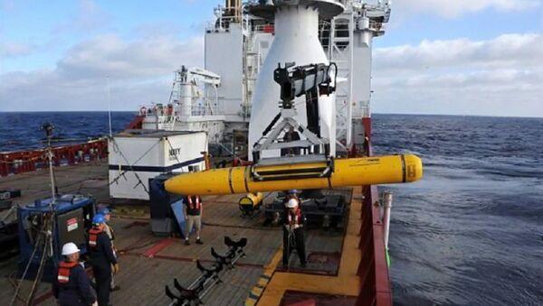Americký dron zabavený Číňany v Jihočínském moři - Sputnik Česká republika