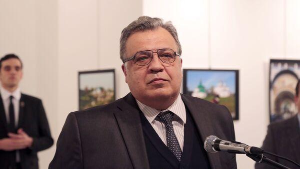 Ruský velvyslanec v Turecku Andrej Karlov - Sputnik Česká republika