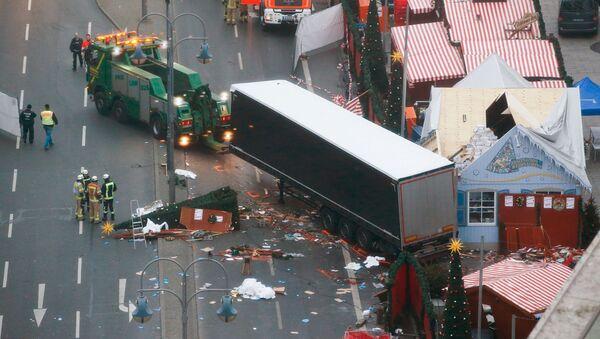 Místo útoku v Berlíně - Sputnik Česká republika