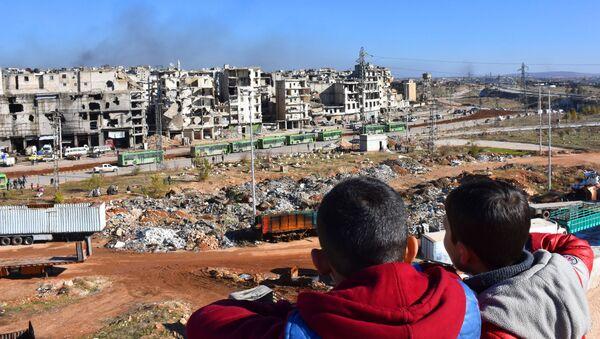 Děti v Sýrii - Sputnik Česká republika