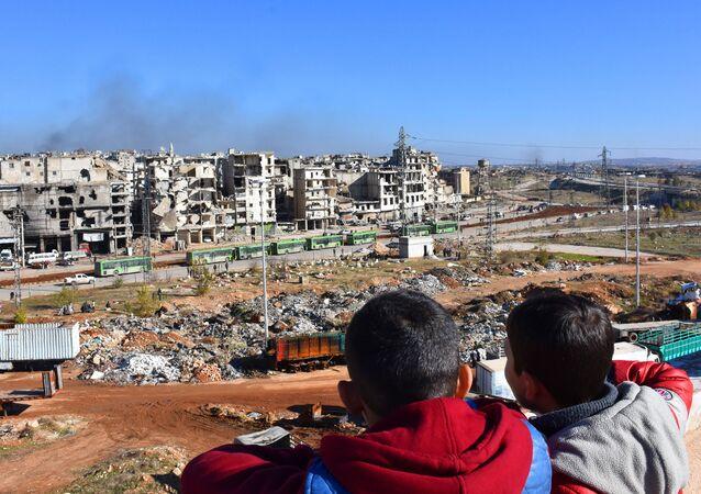Děti v Sýrii