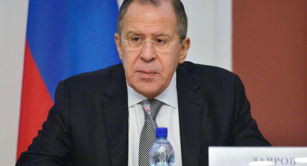 Ruský ministr zahraničí Sergej Lavrov