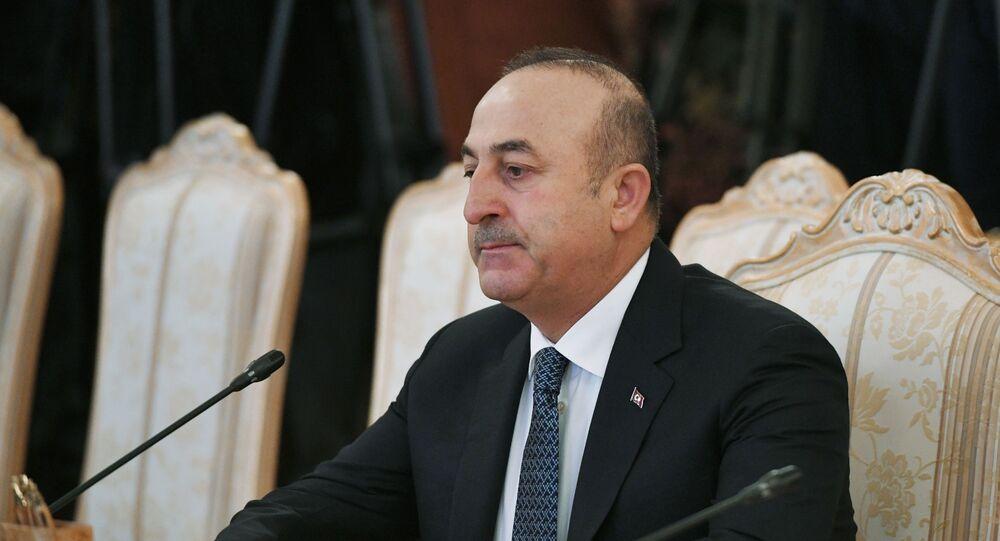 Ministr zahraničních věcí Turecka Mevlüt Çavuşoğlu