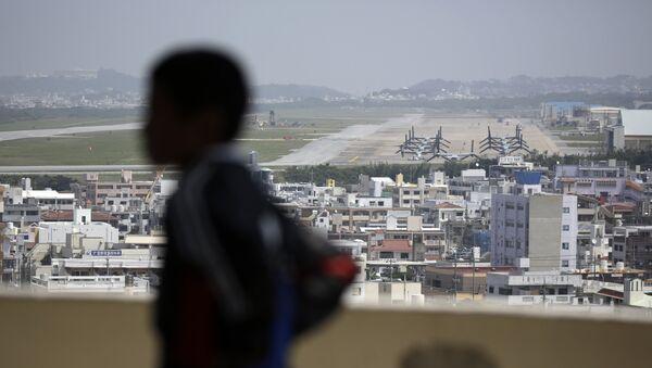 Základna Futenma na Okinawě v Japonsku - Sputnik Česká republika