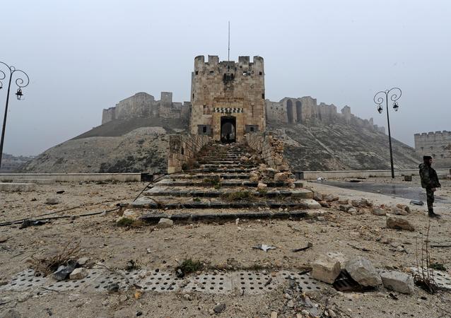 Aleppo: před a po