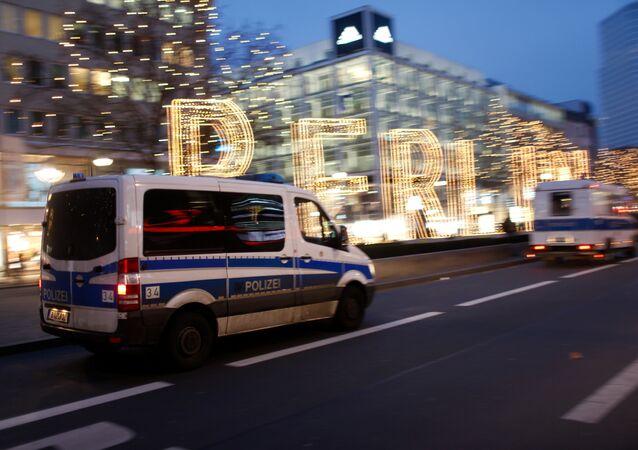Poliсie v Berlíně