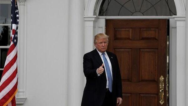 US President-elect Donald Trump - Sputnik Česká republika
