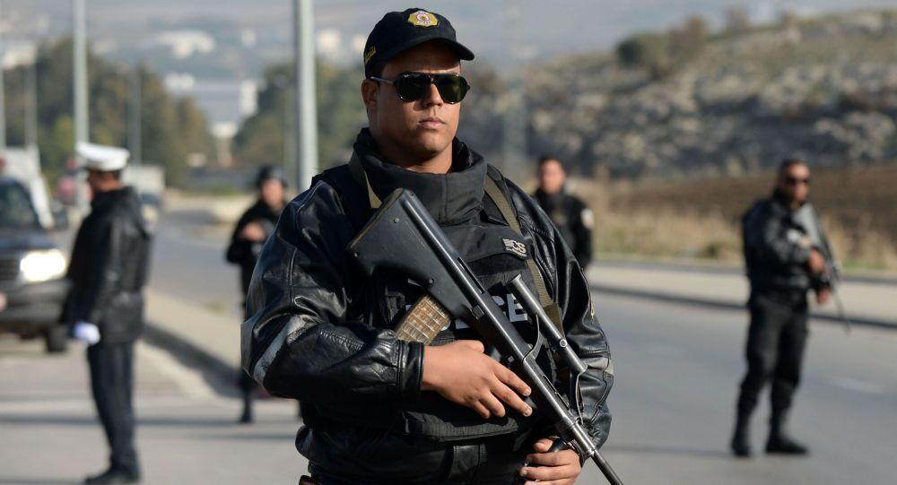 Policie v Tunisku