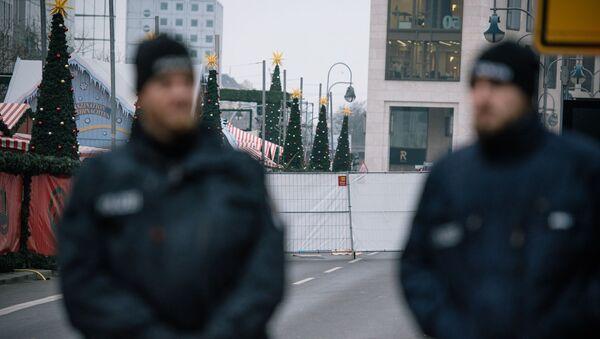 Nedaleko místa útoku v Berlíně - Sputnik Česká republika