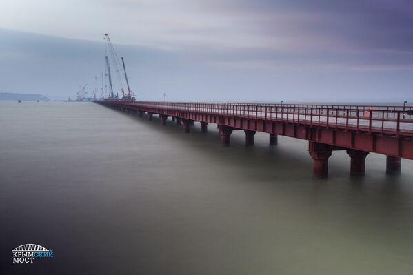 Stavba Kerčského mostu - Sputnik Česká republika