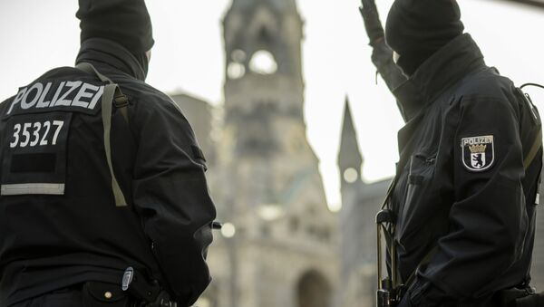 Berlínská policie - Sputnik Česká republika