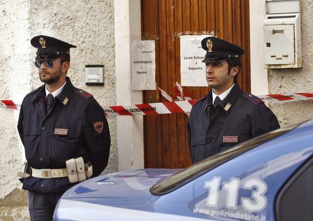 Italští policisté