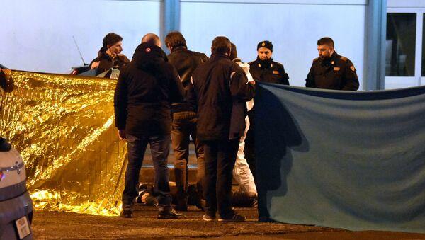 Anis Amri  byl zastřelen v Miláně - Sputnik Česká republika