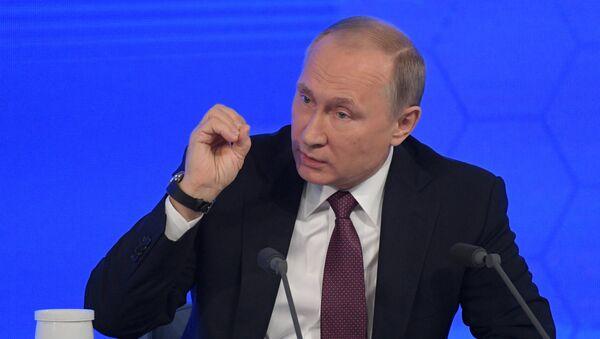 Doroczna konferencja prasowa Władimira Putina - Sputnik Česká republika